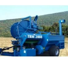 Maşină tractată pentru strîngerea semintelor de dovleac II